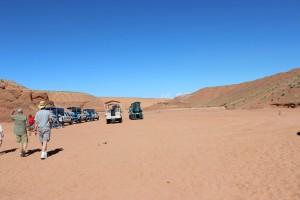 Der Eingang zum Antelope Canyon