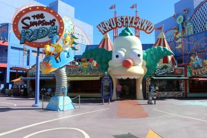 Krustyland in den Universals Studios