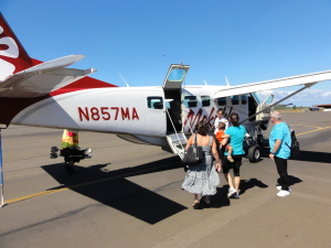 Mit Mokulele-Air nach Big Island