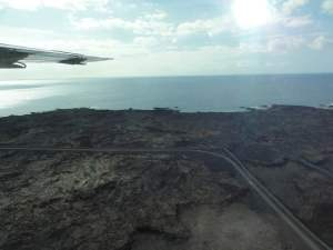 Landeanflug auf Big Island