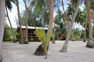 Unsere Unterkunft in Aitutaki