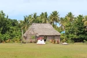 Das Versammlungshaus der Dorfältesten