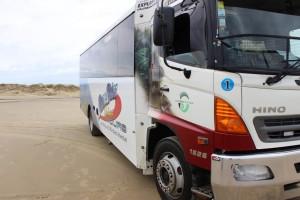 Unser Bus zu Cape Reingab