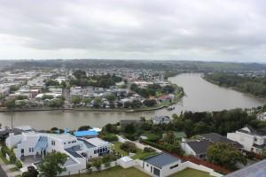 Aussicht über Whanganui