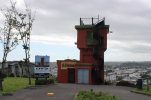 Der Lift in Whanganui