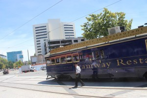 Das Restaurant Tram