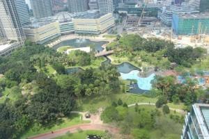 Park vor den Petronas Towers