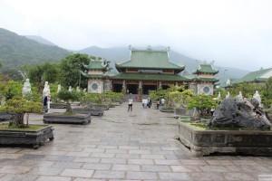 Tempel bei der Lady Buddha Statue in Da Nang